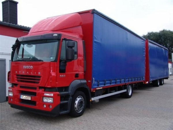 IVECO Stralis Active Day/Time Spezial Sonnenblende